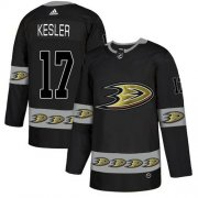 Wholesale Cheap Adidas Ducks #17 Ryan Kesler Black Authentic Team Logo Fashion Stitched NHL Jersey