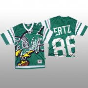 Wholesale Cheap NFL Philadelphia Eagles #86 Zach Ertz Green Men's Mitchell & Nell Big Face Fashion Limited NFL Jersey