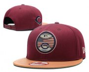 Wholesale Cheap Cincinnati Reds Snapback Ajustable Cap Hat GS 3