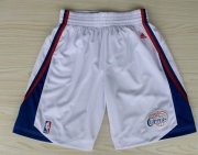 Wholesale Cheap Los Angeles Clippers White Short