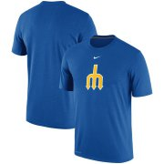 Wholesale Cheap Seattle Mariners Nike Batting Practice Logo Legend Performance T-Shirt Royal