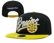 Wholesale Cheap Boston Bruins Snapback Ajustable Cap Hat YD 2