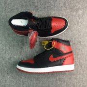 Wholesale Cheap Air Jordan 1 Rare Air Shoes Black/Red-White