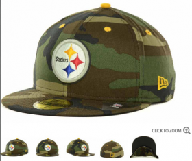 Wholesale Cheap Pittsburgh Steelers fitted hats 09
