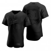 Wholesale Cheap Washington Nationals #20 Frank Robinson Men's Nike Black MLB MVP Limited Player Edition Jersey