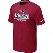 Wholesale Cheap Nike New England Patriots Big & Tall Critical Victory NFL T-Shirt Red
