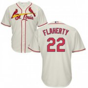 Wholesale Cheap Cardinals #22 Jack Flaherty Cream New Cool Base Stitched MLB Jersey