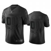 Wholesale Cheap Minnesota Vikings Custom Men's Nike Black NFL MVP Limited Edition Jersey