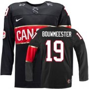 Wholesale Cheap Olympic 2014 CA. #19 Jay Bouwmeester Black Stitched NHL Jersey