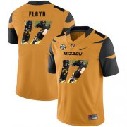 Wholesale Cheap Missouri Tigers 17 Richaud Floyd Gold Nike Fashion College Football Jersey