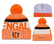 Wholesale Cheap NFL Cincinnati Bengals Logo Stitched Knit Beanies 011