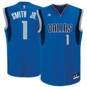 Wholesale Cheap Men's Dallas Mavericks #1 Dennis Smith Jr. adidas Blue 2017 NBA Draft Pick Replica Jersey