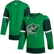 Wholesale Cheap Columbus Blue Jackets Blank Men's Adidas 2020 St. Patrick's Day Stitched NHL Jersey Green.jpg
