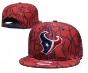 Wholesale Cheap Texans Team Logo Red Adjustable Hat TX
