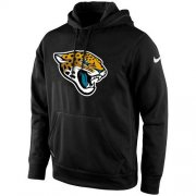 Wholesale Cheap Men's Jacksonville Jaguars Nike Black KO Logo Essential Hoodie