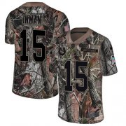Wholesale Cheap Nike Colts #15 Dontrelle Inman Camo Men's Stitched NFL Limited Rush Realtree Jersey