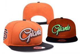 Wholesale Cheap MLB San Francisco Giants Adjustable Snapback Hat YD16062717