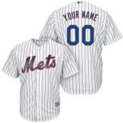 Wholesale Cheap New York Mets Majestic Cool Base Custom Jersey White