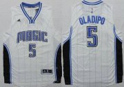 Wholesale Cheap Orlando Magic #5 Victor Oladipo Revolution 30 Swingman 2014 New White Jersey