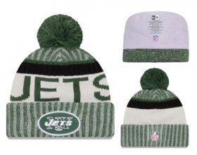 Wholesale Cheap NFL New York Jets Logo Stitched Knit Beanies 002