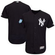Wholesale Cheap Yankees Blank Navy 2019 Spring Training Flex Base Stitched MLB Jersey