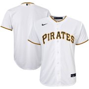 Wholesale Cheap Pittsburgh Pirates Nike Youth Home 2020 MLB Team Jersey White