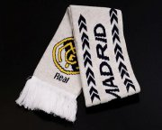 Wholesale Cheap Real Madrid Soccer Football Scarf White