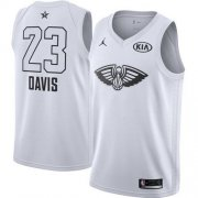 Wholesale Cheap Nike Pelicans #23 Anthony Davis White NBA Jordan Swingman 2018 All-Star Game Jersey