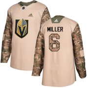 Wholesale Cheap Adidas Golden Knights #6 Colin Miller Camo Authentic 2017 Veterans Day Stitched Youth NHL Jersey