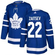 Wholesale Cheap Adidas Maple Leafs #22 Nikita Zaitsev Blue Home Authentic Stitched NHL Jersey
