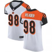 Wholesale Cheap Nike Bengals #98 D.J. Reader White Men's Stitched NFL New Elite Jersey