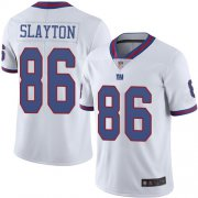 Wholesale Cheap Nike Giants #86 Darius Slayton White Men's Stitched NFL Limited Rush Jersey