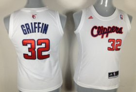 Wholesale Cheap Los Angeles Clippers #32 Blake Griffin White Womens Jersey