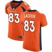Wholesale Cheap Nike Broncos #83 Matt LaCosse Orange Team Color Men's Stitched NFL Vapor Untouchable Elite Jersey