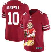 Cheap San Francisco 49ers #10 Jimmy Garoppolo Nike Team Hero 2 Vapor Limited NFL Jersey Red