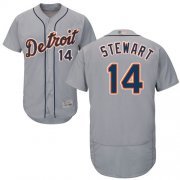 Wholesale Cheap Tigers #14 Christin Stewart Grey Flexbase Authentic Collection Stitched MLB Jersey