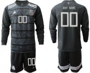 Wholesale Cheap Mexico Personalized Home Long Sleeves Soccer Country Jersey