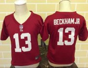 Wholesale Cheap Toddler Nike Giants #13 Odell Beckham Jr Red Alternate Stitched NFL Elite Jersey