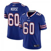 Wholesale Cheap Men's Buffalo Bills #60 Mitch Morse Stitched Vapor Untouchable Limited Blue Jersey