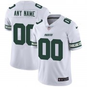 Wholesale Cheap Green Bay Packers Custom Nike White Team Logo Vapor Limited NFL Jersey