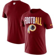 Wholesale Cheap Washington Redskins Nike Sideline All Football Performance T-Shirt Burgundy