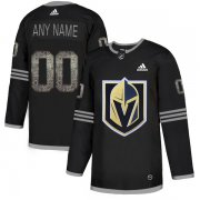 Wholesale Cheap Men's Adidas Golden Knights Personalized Authentic Black Classic NHL Jersey