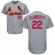 Wholesale Cheap Cardinals #22 Jack Flaherty Grey Flexbase Authentic Collection Stitched MLB Jersey