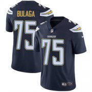Wholesale Cheap Nike Chargers #75 Bryan Bulaga Navy Blue Team Color Youth Stitched NFL Vapor Untouchable Limited Jersey