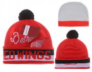 Wholesale Cheap Detroit Red Wings Beanies YD001