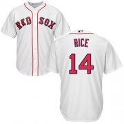 Wholesale Cheap Red Sox #14 Jim Rice White Cool Base Stitched Youth MLB Jersey