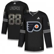 Wholesale Cheap Adidas Flyers #88 Eric Lindros Black Authentic Classic Stitched NHL Jersey