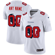 Wholesale Cheap Houston Texans Custom White Men's Nike Team Logo Dual Overlap Limited NFL Jersey