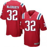 Wholesale Cheap Nike Patriots #32 Devin McCourty Red Alternate Youth Stitched NFL Elite Jersey