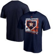 Wholesale Cheap Houston Astros Majestic 2019 Spring Training Grapefruit League Big & Tall Base on Balls T-Shirt Navy